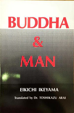 """Buddha & Man"" book cover"