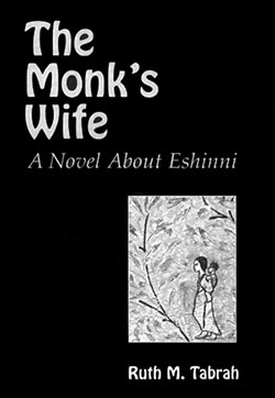 """The Monk's Wife: A Novel about Eshinni"" book cover"