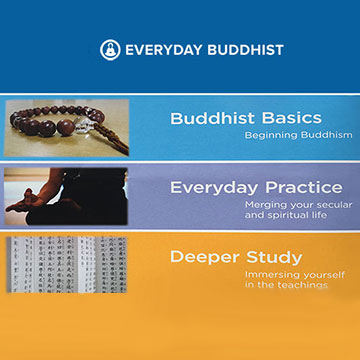 categories from the EverydayBuddhist.org website