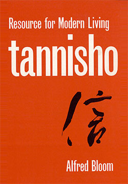 """Tannisho: A Resource for Modern Living"" book cover"
