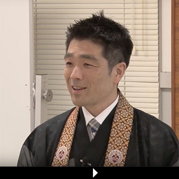 Rev. Kiyonobu Kuwahara video still from Summer Session 2019